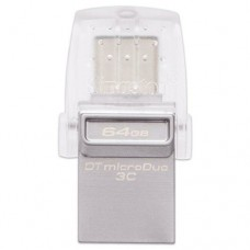 Kingston DataTraveler microDuo OTG Type C 128GB USB 3.1 Flash Drive