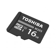 TOSHIBA M203 MICRO SD 16 GB CLASS 10 FLASH MEMORY CARD
